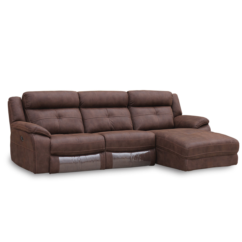 Sofa cheslong boston piel canalhome for Sofa cheslong